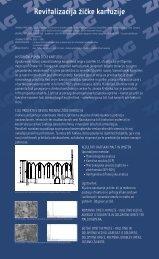 Revitalizacija žičke kartuzije - Zavod za gradbeništvo Slovenije