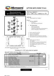 APTMC60TLM20CT3AG - Richardson RFPD