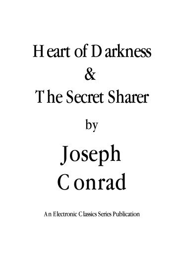 heat of darkness vs secret sharer