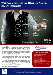 F M E A - Singapore Manufacturing Federation