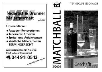 3 - 2006 - Tennisclub Itschnach