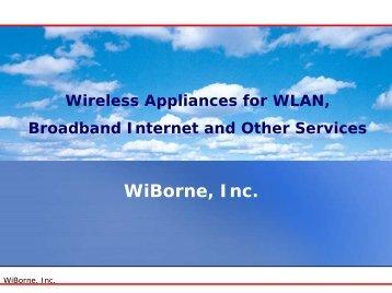 Hotspot Content Management - WiBorne.com