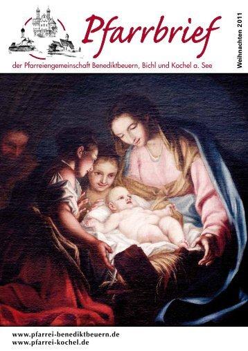 PDF | 5 MB | 08.12.2011 - in der Pfarrei  St. Benedikt Benediktbeuern