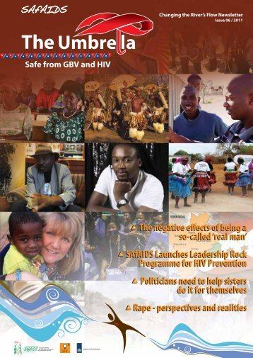 Issue 06/2011 - The Umbrella: Safe from GBV and HIV - SAfAIDS
