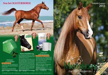 Masterhorse Hauptkatalog - Masterhorse - Die Pferdefutterexperten