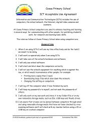 ICT Acceptable Use Agreement