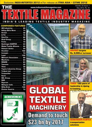 textile machinery - Textile Magazine