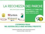 Scarica la presentazione - Parco Nazionale d'Abruzzo Lazio e Molise