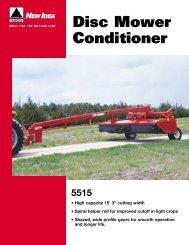 Disc Mower Conditioner - New Idea - AGCO