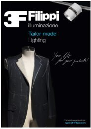 tailor-made lighting - 3F Filippi