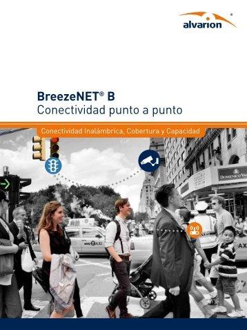 BreezeNET® B Conectividad punto a punto - Alvarion