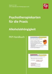 Leseprobe Handbuch PKP Alkohol - Cip-medien.eu