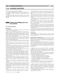 V.310 PLANCHERS CHAUFFANTS