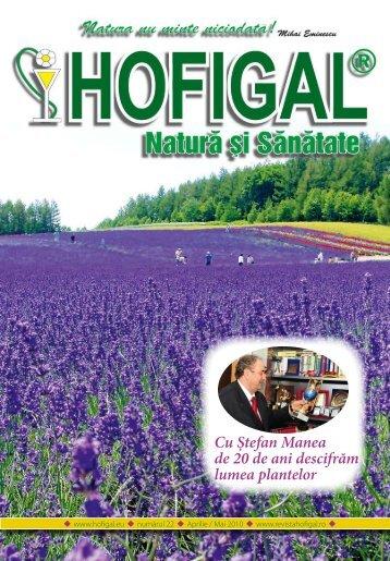Cu Ştefan Manea de 20 de ani descifrăm lumea plantelor - Hofigal