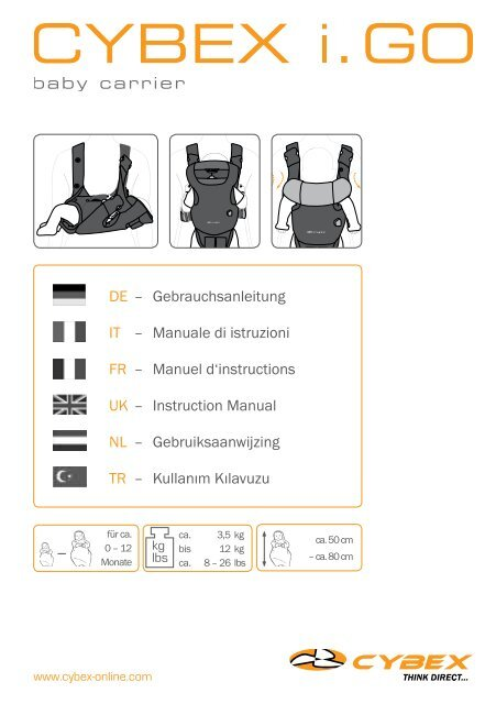 dd5a3467986 iGO Baby Carrier (Cybex) Instructions.pdf - Mamas   Papas
