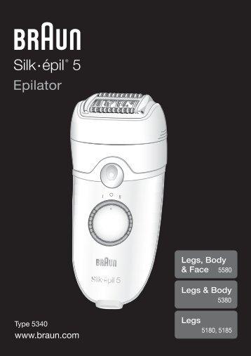 Silk épil 5® - Braun Consumer Service spare parts use instructions ...