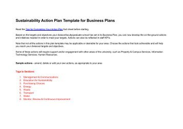 Strategic priority action plan template or apt ims alliance sustainability action plan template for business plans achieving a pronofoot35fo Images
