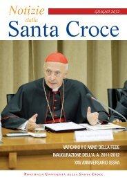 Giugno 2012 - Pontificia Università della Santa Croce