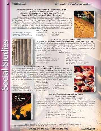Social Studies Pages (1.86MB) - Teaching Point