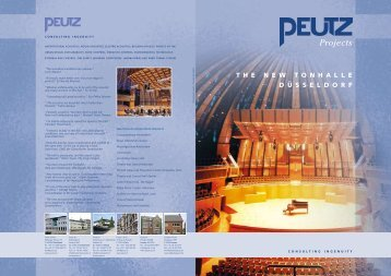 Projects - PEUTZ CONSULT GmbH