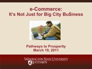 e-Commerce: - Division of Governmental Studies and Services