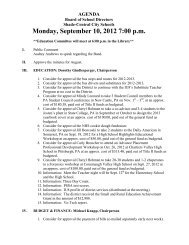 Monday, September 10, 2012 7:00 p.m. - Shade-Central City High ...