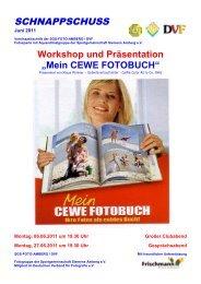 """Workshop und Präsentation """"Mein CEWE ... - SGS-FOTO-Amberg"""