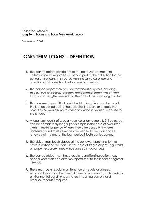 FINAL_LONG TERM LOANS definition _2 - Lending for Europe