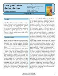 Guía Los guerreros de la hierba - Alfaguara