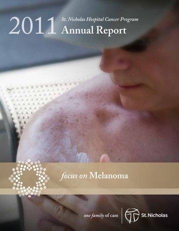 Annual Report - St. Nicholas Hospital