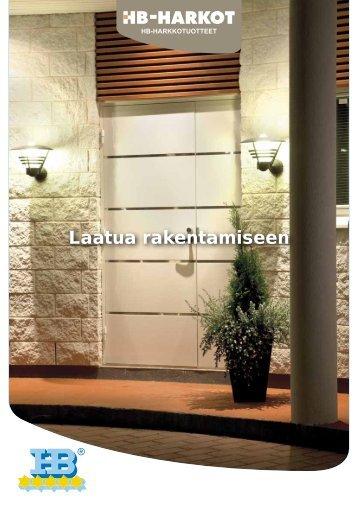 Esite: HB-harkkotuotteet - Taloon.com