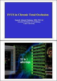 IVUS in Chronic Total Occlusion