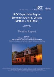 Meeting Report - (IPCC) - Working Group 2