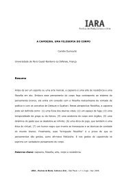 Resumo - IARA - Revista de Moda, Cultura e Arte