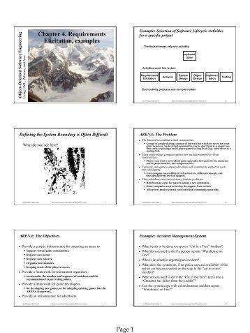 Chapter 9 test handout