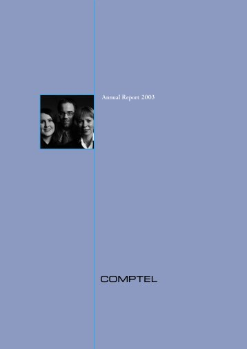 Annual Report 2003 - Comptel