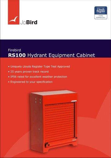 RS100 Hydrant Equipment Cabinet - Jo Bird