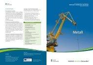 Metall - Wirtschaft – Stadt Eberswalde