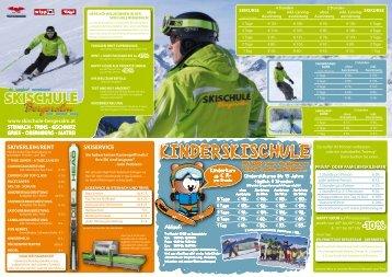 Skischule Bergeralm Folder 2011/2012