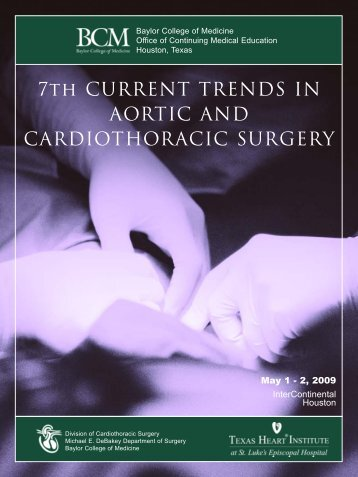 7th CURRENT TRENDS IN AORTIC AND ... - CME Activities