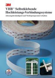 3M™ Broschüre VHB ... - Fritz Bossert e.K.