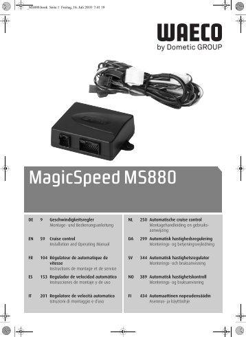 MagicSpeed MS50 - Waeco
