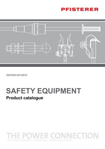Safety Equipment - Product Catalogue - Pfisterer