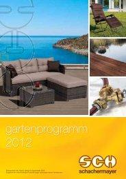 gartenprogramm 2012