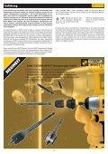 EXTREME DEWALT®2 SDS-plus Hammerbohrer - Schreinerhandel ... - Page 2