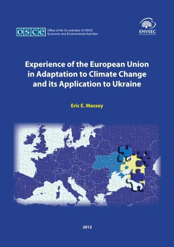 Experience of the European Union in Adaptation to Climate ... - OSCE