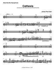 Cathexis-Sain 2.0 Sax Solo f08 - James Paul Sain