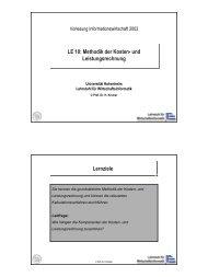 LE10_2002.pdf - Lehrstuhl für Wirtschaftsinformatik (Prof. Dr. Helmut ...