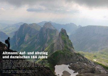 Altmann: Auf- und Abstieg und dazwischen 184 ... - Peter Donatsch