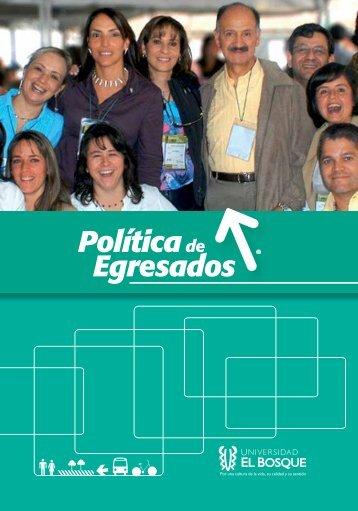 Descargar Política 2013 - Universidad El Bosque